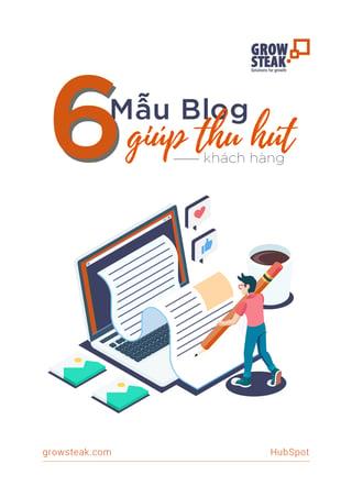 [COVER] 6 mau blog giup thu hut khach hang