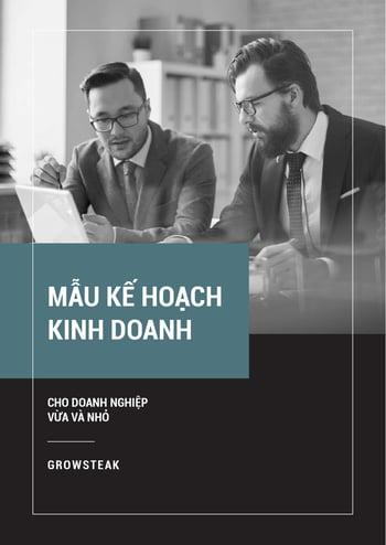 [TEMPLATE-COVER] Mẫu kế hoạch kinh doanh