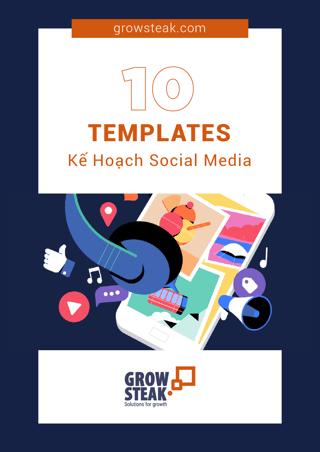 10 template kế hoạch social