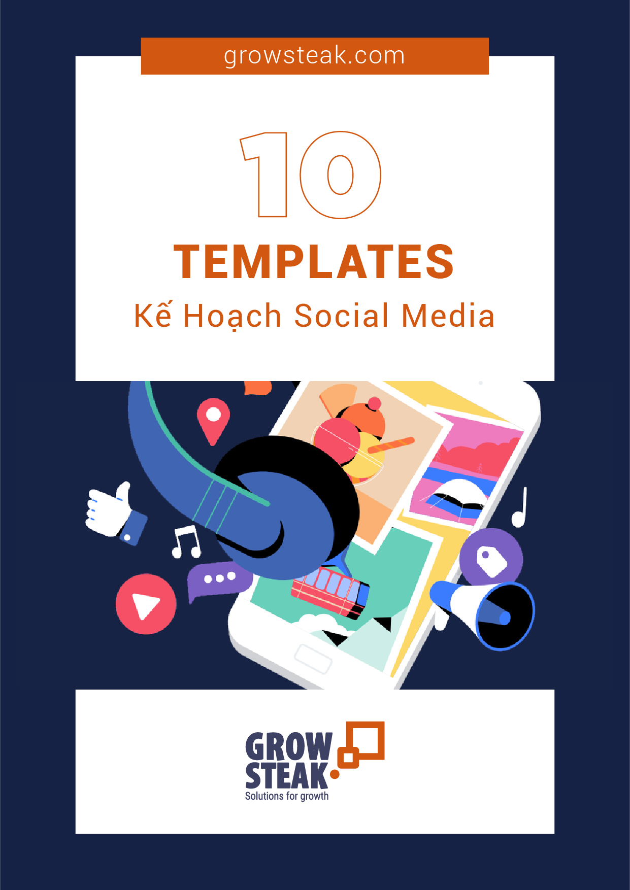 [COVER] 10 template kế hoạch social